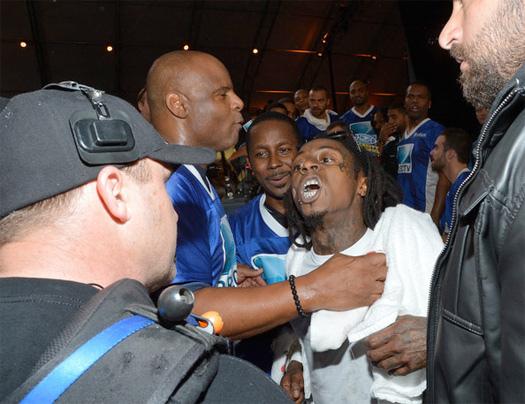 Lil Wayne And Nicki Minaj Fight