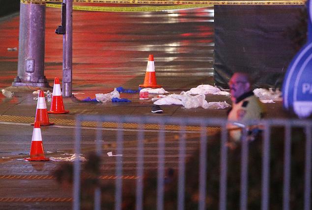 Las Vegas Car Crash